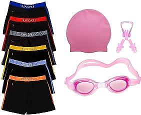 Golden Girl Swimming Kit for Boys Kids & Men(Pink_3-6 Years)