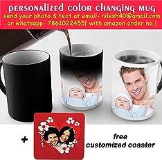 insane vogue Ceramic Customized Colour Changing Mug (iv-mug-wt-74)