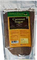 Sattvic Foods Pure Unrefined 100% Natural Coconut Sugar, 250g