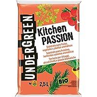 Undergreen Kitchen PASSION Terriccio per Ortaggi, Piccoli Frutti e Piante Aromatiche, Consentito in Agricoltura…