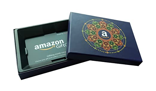 Amazon.in Gift Cards - In a Blue Gift Box - Rs.500: Amazon.in ...