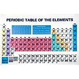 Poster con tavola periodica moderna di elementi - Poster chimico poster educativo di scienza numero atomico Simbolo tela…