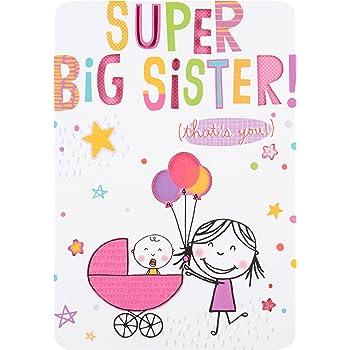Hallmark Birth Of Baby CardBest Big Sister