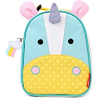 Skip Hop Zoo Lunchie Mini Vespertasche für den Kindergarten, isoliert, mit Namensschild, mehrfarbig, Einhorn Eureka