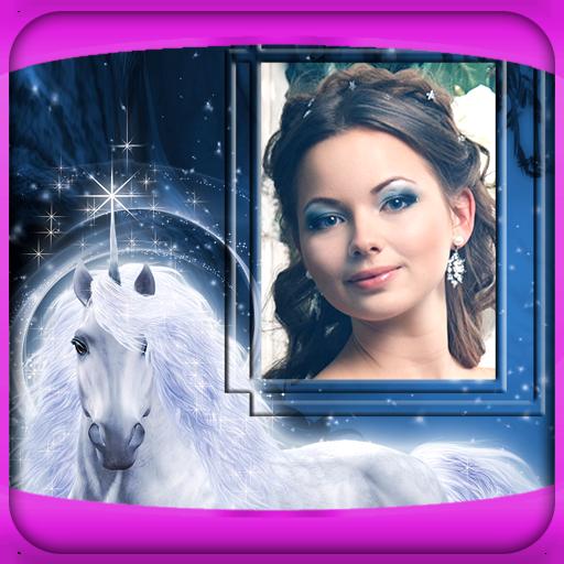 Unicorn Bilderrahmen -