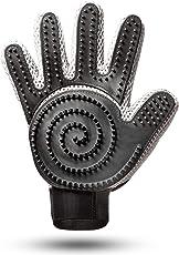 [Komplett verbessert] Fellpflege Handschuh 2.0 für Katze, Hund & Pferd (2-seitig) Ideal für langhaar & kurzhaar - Tierhaar Hundebürste & Katzenbürste - Fellpflegehandschuh Bürste