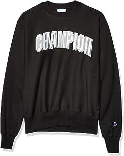 Champion Herren Vintage Wash Reverse Weave Crew WV Notch