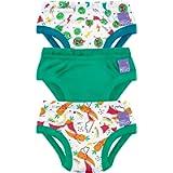 Bambino Mio , Potty Training Pants, Captain Carrot, 2-3 Years, 3 Pack
