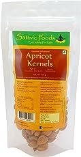 Sattvic Foods Organic Sweet Apricot Kernels, 100g