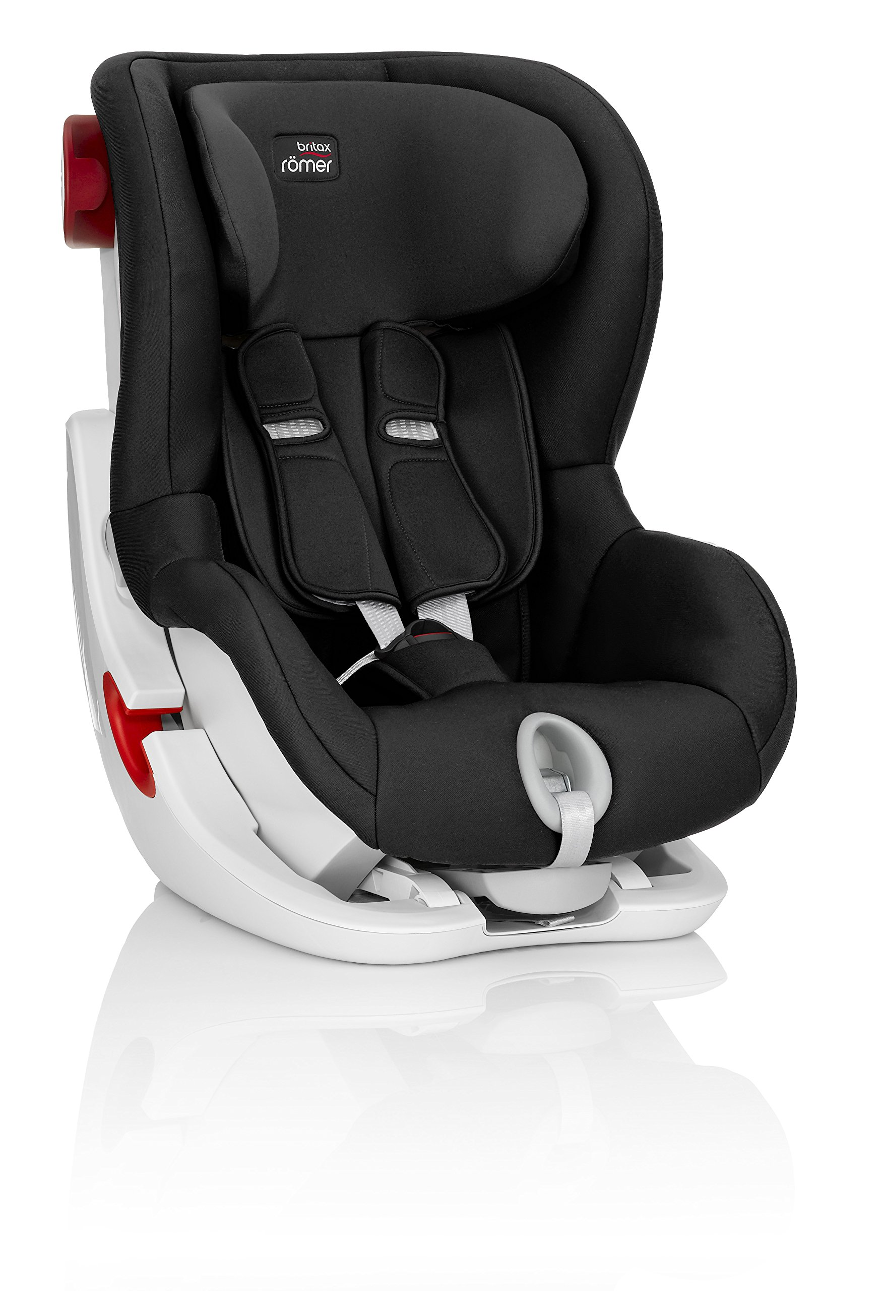 Britax Römer KING II Group 1 (9-18kg) Car Seat - Cosmos Black Britax Römer Easy installation - with tilting seat and patented seat belt tensioning system Optimum protection - performance chest pads, deep, padded side 4