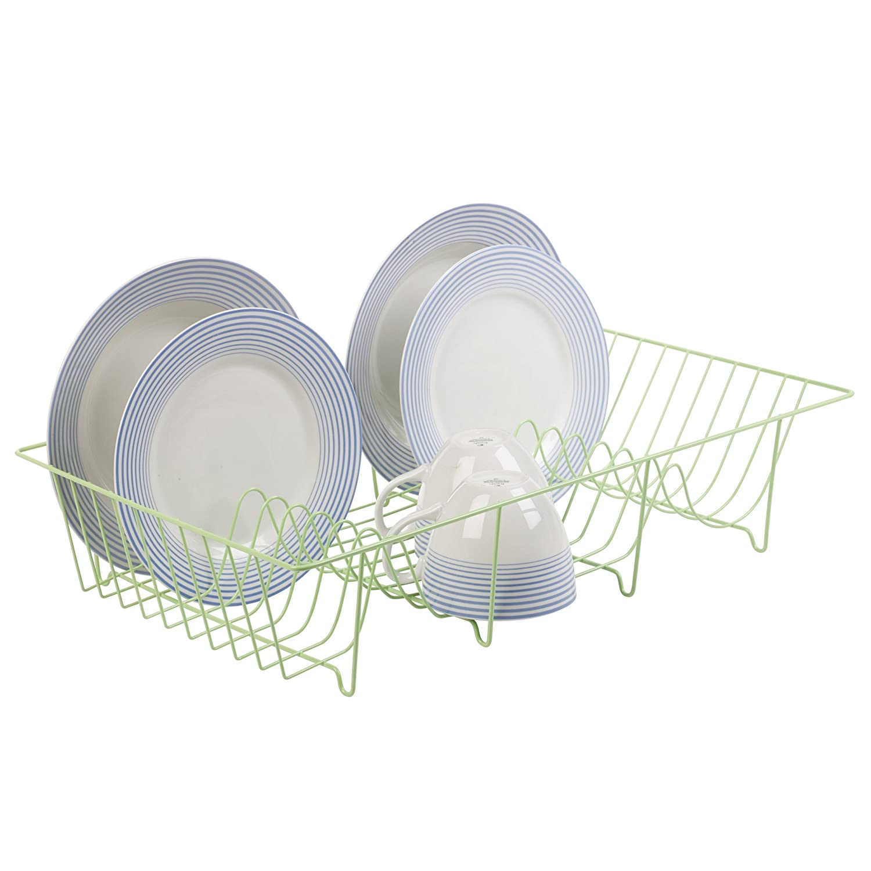 Metal Wire Coated Dish Rack Kitchen Sink Drainer (Red): Amazon.co.uk:  Kitchen U0026 Home
