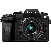 Panasonic LUMIX DMC-G7KEB-K Professional Camera with 12-60 mm LEICA Lens - Black