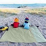 Amazon Brand - Eono Ultraleichte Picknickblatt für Strand, Garten, Camping, Wandern, Packbar, Sanddicht, Wasserabweisend Pick