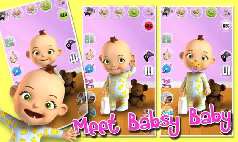 Zoom IMG-2 talking babsy baby free