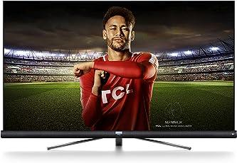 TCL 55DC766 139 cm (55 Zoll) Fernsher (4K UHD, Smart TV, JBL by Harman Kardon) Brushed Titanium