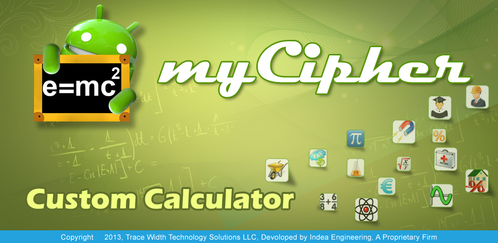 myCipher Custom Calculator