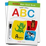 Reusable Wipe And Clean Book - Capital Letters : Write And Practice Capital Letters (Reusable Wipe and Clean Books)