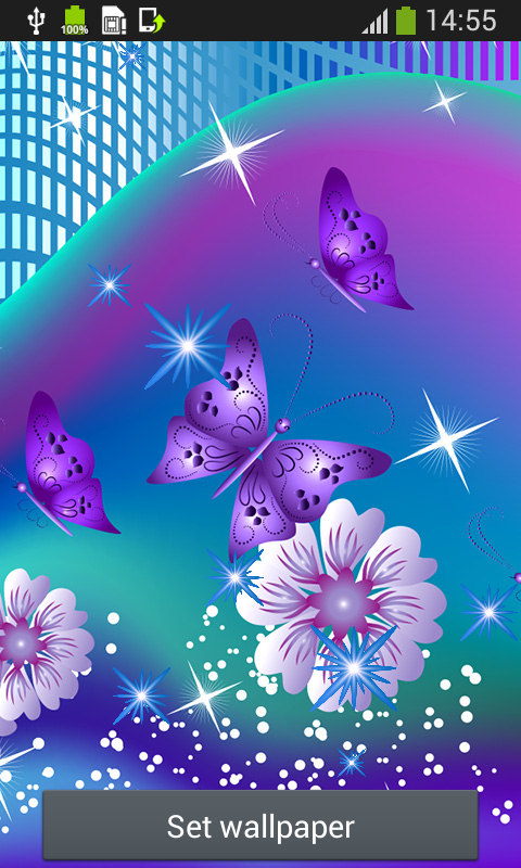 Butterfly Live Wallpapers: Amazon.co.uk: Appstore for Android
