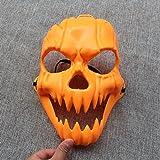 Eizur Halloween Kürbis Maske Zombi Gruseln Schream Kopfmaske Halloween Zubehör Prop Kostüm Party Dekorationen