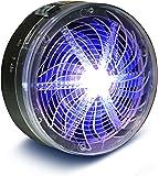 Sauber Meister Insektenvernichter ohne Strom | Ideal als Mückenfalle und Fliegenfänger | UV-Licht Insektenvernichter | Ohne Chemie | Indoor und Outdoor