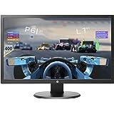 HP 24o Monitor Gaming TN, Schermo 24 pollici, Risoluzione 1920 x 1080, Tempo di Risposta 1 ms, Comandi sullo Schermo, HDMI, DVI e VGA, Reclinabile, Nero