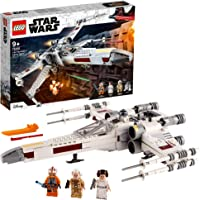 LEGO 75301 Star Wars Le X-Wing Fighter de Luke Skywalker Jouet de Combat avec la Princesse Leia et la Figurine de droïde…