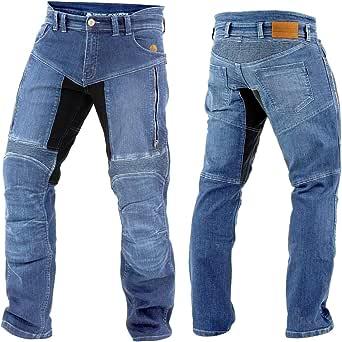 Trilobite Herren Motorrad Jeans Parado Hose Lang 3066104 Bekleidung
