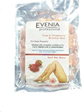 Evenia Professional White Strawberry Brazilian Wax Different Shapes (Strawberry)