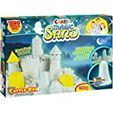 Craze 53080 - Magic Sand Castle Box - Glow in the Dark., ca. 700g