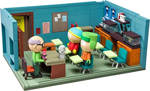 McFarlane–South Park MR. Garrison' S Classroom Spiel BAU-, 787926128994, 28cm