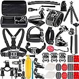 Neewer 50-in-1 Action-Kamera Zubehör-Kit für GoPro Hero 6 5 4 3+ 3 2 1, Hero Session 5 Black AKASO EK7000 Apeman SJCAM DBPOWER AKASO VicTsing Rollei