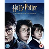 Harry Potter: The Complete 8-film Collection [Blu-ray] [2001] [2016] [Region Free]