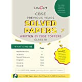 Educart CBSE Previous Years Solved Papers (Written by CBSE TOPPERS)