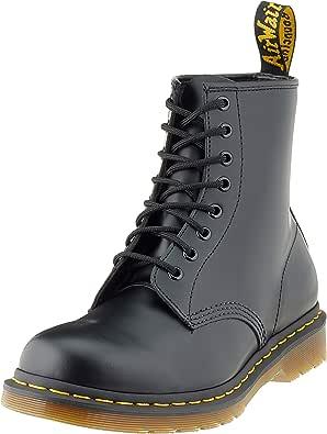 MARTENS 1460 NAPPA BLACK Leder Boots Schnürstiefel Schneestiefel DR