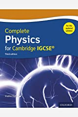 Complete Physics for Cambridge IGCSE Updated syllabus (Complete Science Igcse) (English Edition) Formato Kindle