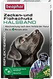 Zecken- & Flohschutz Halsband für Hunde   Zeckenschutz für Hunde   Reflektierendes Halsband gegen Zecken & Flöhe…