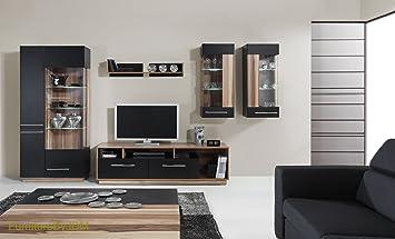 TV Wohnwand Tisch Set Wohnzimmer QuotMONSUNquot Grosse