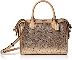 Coach F37747 Micro Bennett Satchel Bag for Women - Leather, Gold (192643367579)