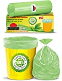 Shalimar Compostable/Biodegradable / Eco Friendly Garbage Bag , Medium size 48 x 56 cm 3 Rolls, 45 Bags ( Dustbin Bag…