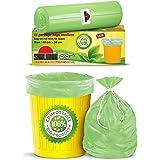 Shalimar Compostable/Biodegradable / Eco Friendly Garbage Bag , Medium size 48 x 56 cm 3 Rolls, 45 Bags ( Dustbin Bag / Trash