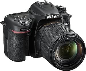 Nikon D7500 Fotocamera Reflex Digitale con Obiettivo AF-S DX NIKKOR 18-140mm f/3.5-5.6G ED VR, 20,9 Megapixel, Wi-Fi, Bluetooth, SD 8GB 300x Premium Lexar, Nero [Nital card: 4 Anni di Garanzia]