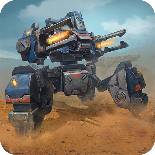 Tanks VS Robots: Multiplayer Panzer und Mech Spiele Kostenlos (Tank Aus)