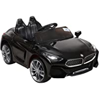 GetBest GetBolles Z4 Electric Ride on Car for Kids with Rechargeable 12V Battery, Music, Lights and Swing, Pink