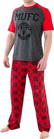 Manchester United Mens Manchester United Football Club Pyjamas