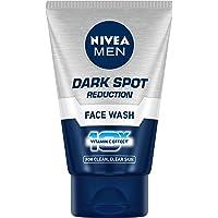 NIVEA Men Face Wash, Dark Spot Reduction, 10x Vitamin C, 50g