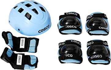 Cosco Protective Kit, Senior (Sky Blue)