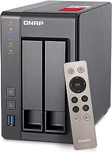 Qnap Ts 251 2g 8tb 2 Bay Nas Lösung Installiert Mit Computer Zubehör