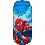 Spider-Man – Junior-ReadyBed – sovsäck för barn och luftsäng i en