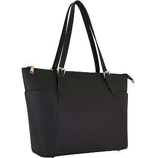 a504059fbbbe7 Vanessa   Melissa Damen Handtasche Kunstleder TÜV geprüft groß Saffiano  Shopping Bag A4 Sale