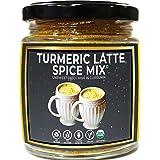 d alive Spiced Turmeric Latte - 90g (Sugar-Free, Organic, Gluten Free, Low Carb, Vegan, Diabetes & Keto Friendly) - Powerful